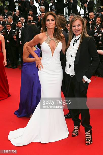 Cindy Crawford Eva Cavalli Georgia May Jagger attend the Opening Ceremony and Premiere of 'The Great Gatsby' at The 66th Annual Cannes Film Festival...