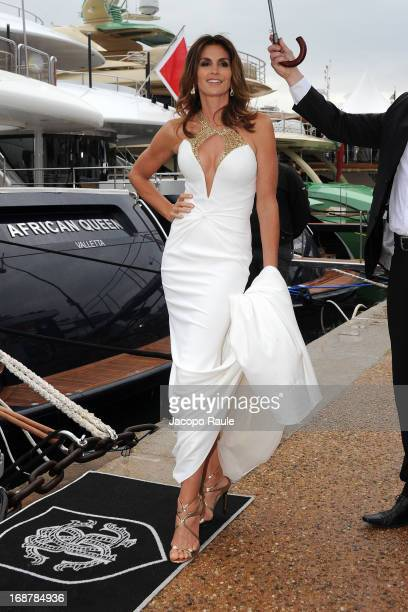 Cindy Crawford is seen during The 66th Annual Cannes Film Festival on May 15 2013 in Cannes France