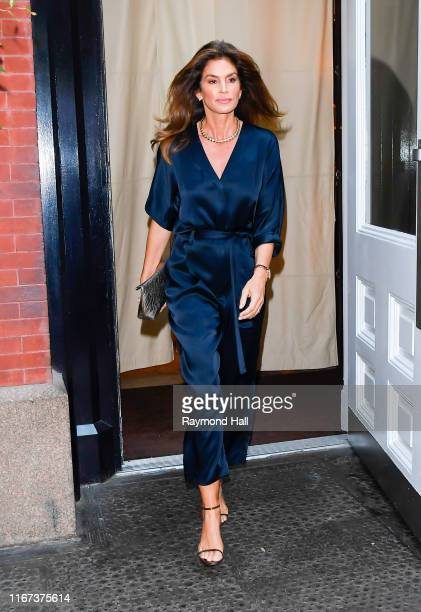 Cindy Crawford is seen in soho on September 11 2019 in New York City
