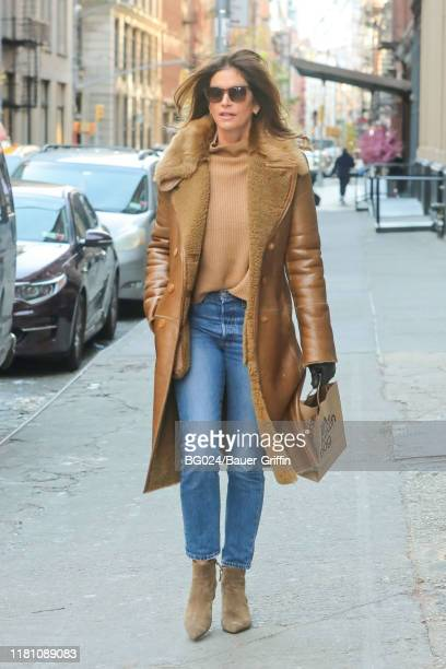 Cindy Crawford is seen on November 09, 2019 in New York City.