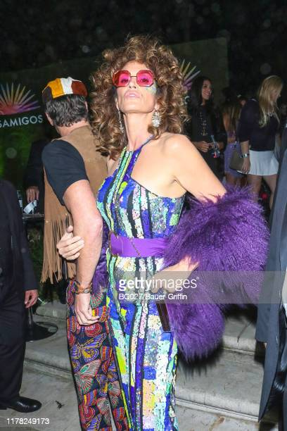 Cindy Crawford is seen on October 26, 2019 in Los Angeles, California.