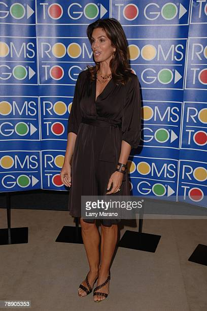 46 Cindy Crawford Home Collection Launch At Rooms To Go In Miami
