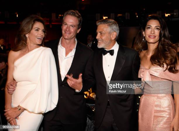 Cindy Crawford Rande Gerber 46th AFI Life Achievement Award Recipient George Clooney and Amal Clooney attend the American Film Institute's 46th Life...