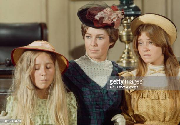 Cindy Eilbacher Vera Miles Lisa Eilbacher appearing in the Walt Disney Television via Getty Images series 'Alias Smith and Jones' episode 'The Posse...