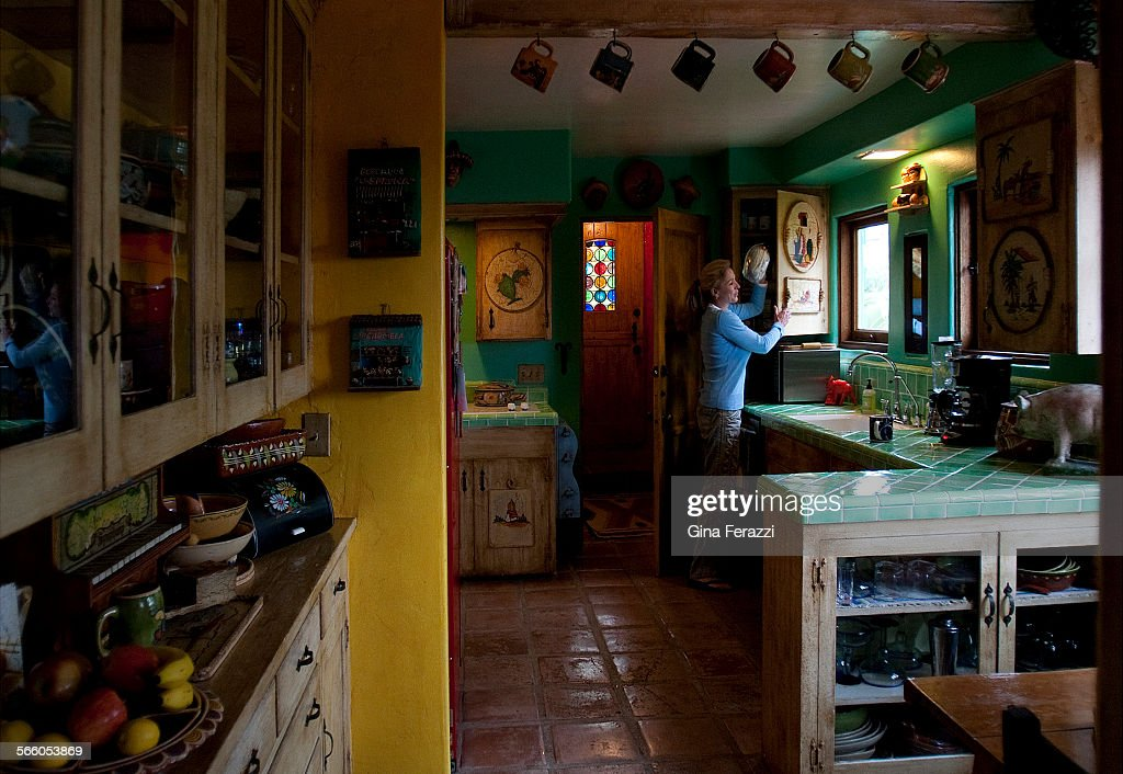 Cindy Evan\'s kitchen was designed with her Mexican grandmother in ...
