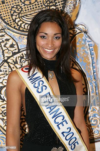 Cindy Fabre in BoulogneBillancourt France on October 06th 2005