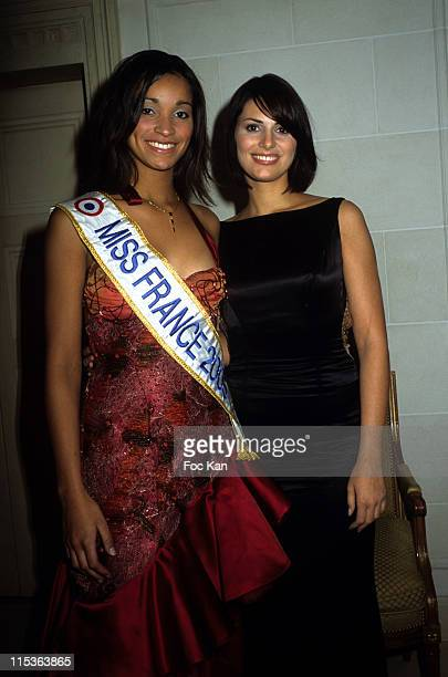 Cindy Fabre Miss France 2005 Laetitia Bleger Miss France 2004