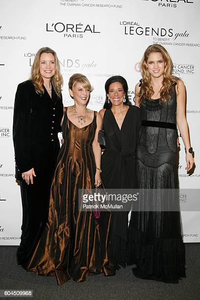 Cindy Harrel Horn Carol J Hamilton Faith Kates Kogan and Cody Horn attend L'OREAL Legends Gala Benefiting The Ovarian Cancer Research Fund at The...