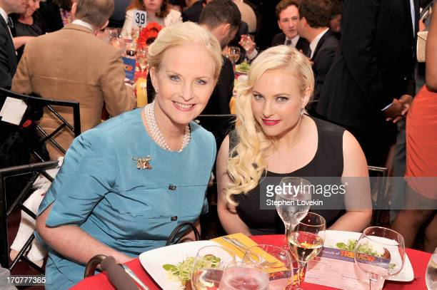 Cindy Hensley McCain and Meghan McCain attend the Trevor Project's 2013 TrevorLIVE Event Honoring Cindy Hensley McCain at Chelsea Piers on June 17...