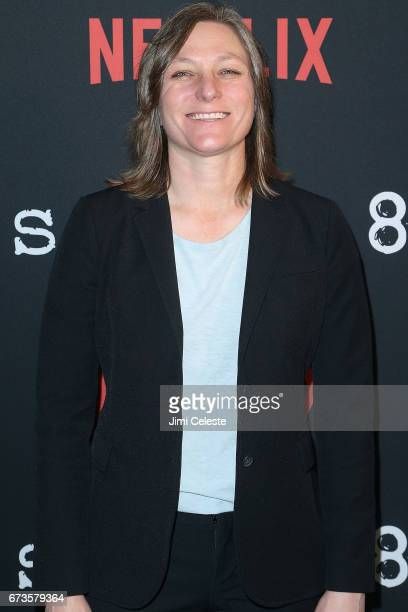 Cindy Holland attend the Season 2 Premiere of Netflix's Sense8 at AMC Lincoln Square Theater on April 26 2017 in New York City