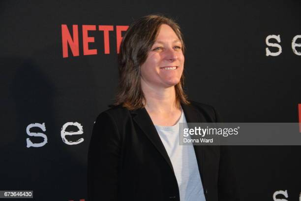 Cindy Holland attends the Sense8 New York Premiere at AMC Lincoln Square Theater on April 26 2017 in New York City