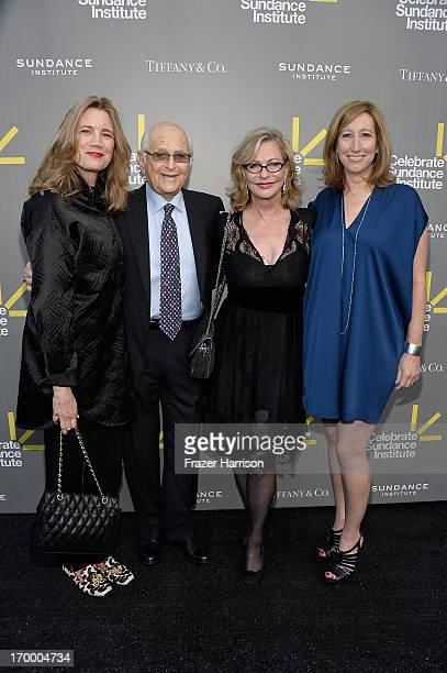 Cindy Horn writer/producer Norman Lear Event Chair and Sundance Institute Trustee Lyn Lear and Sundance Institute Executive Director Keri Putnam...
