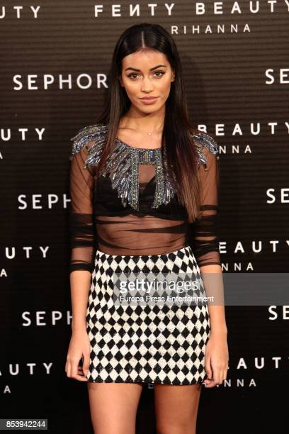 Cindy Kimberly attends Fenty Beauty by Rihanna Launch on September 23 2017 in Madrid Spain