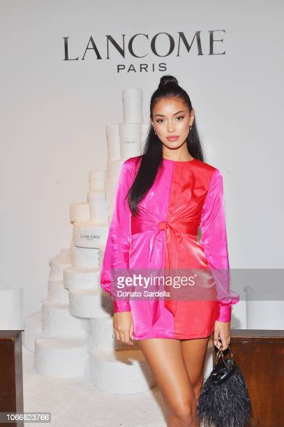 Cindy Kimberly attends Lancôme x Vogue Holiday Event at Delilah West Hollywood on November 29 2018 in West Hollywood California