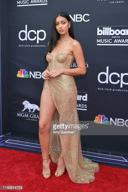 Cindy Kimberly attends the 2019 Billboard Music Awards at MGM Grand Garden Arena on May 1 2019 in Las Vegas Nevada