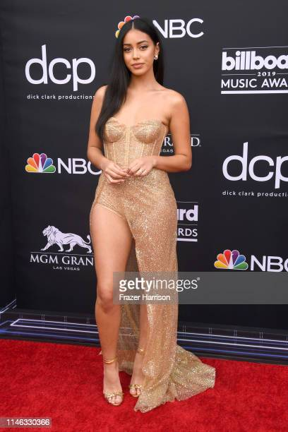 Cindy Kimberly attends the 2019 Billboard Music Awards at MGM Grand Garden Arena on May 01 2019 in Las Vegas Nevada
