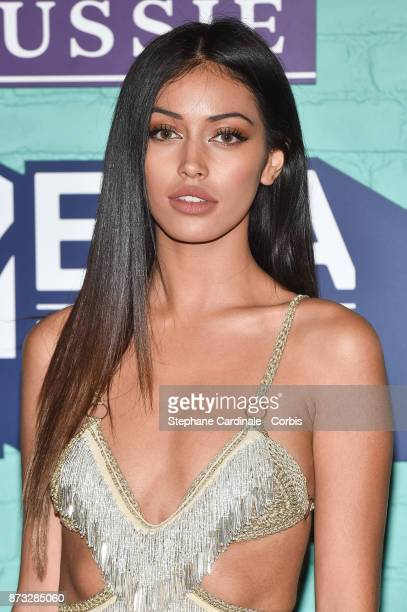Cindy Kimberly attends the MTV EMAs 2017 at The SSE Arena Wembley on November 12 2017 in London England