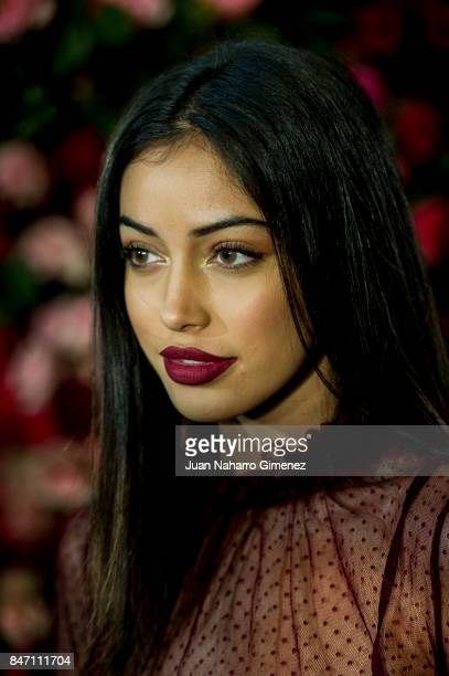 Cindy Kimberly is seen at Palomo Spain front row during MercedesBenz Fashion Week Madrid Spring/Summer 2018 on September 14 2017 in Madrid Spain