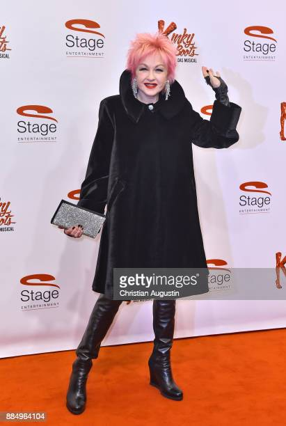 Cindy Lauper attends 'Kinky Boots' Premiere at Stage Operettenhaus on December 3 2017 in Hamburg Germany