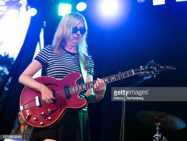 Cindy Lee Berryhill performs during the Music and Revolution Greenwich Village in the 1960's Concert at SummerStage at Rumsey Playfield Central Park...
