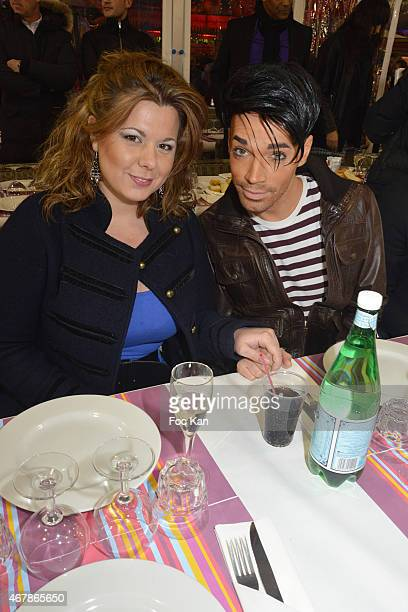 Cindy Lopes and Bruno Moneroe attend 'La Foire du Trone 2015' Launch Party At Pelouse De Reuilly in Benefit of Le Secours Populaire Association on...