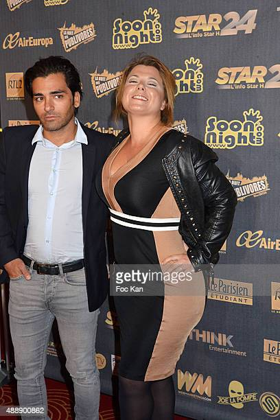 Cindy Lopes and her boy friend attend the '35th Nuit des Publivores' at Grand Rex September 17 2015 in Paris France