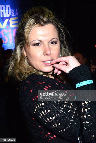 Cindy Lopes attends 'Les Toiles Enchantees' Children Care Association Auction Dinner During The 50th Foire du Trone at Pelouse de Reuilly on March 29...