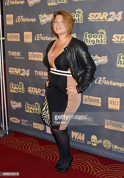 Cindy Lopes attends the '35th Nuit des Publivores' at Grand Rex September 17 2015 in Paris France