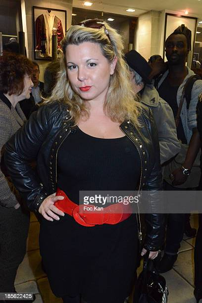 Cindy Lopes from Les Anges de La Tele Realite 6 attends the 'Renoma 50th Anniversary' at Renoma Store Rue de La Pompe on October 22 2013 in Paris...