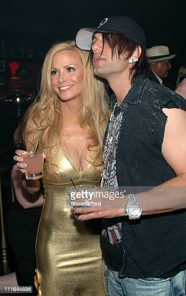 Cindy Margolis and Criss Angel during Criss Angel and Cindy Margolis Host Party for Kozak The Magician at Body English at the Hard Rock Hotel Casino...