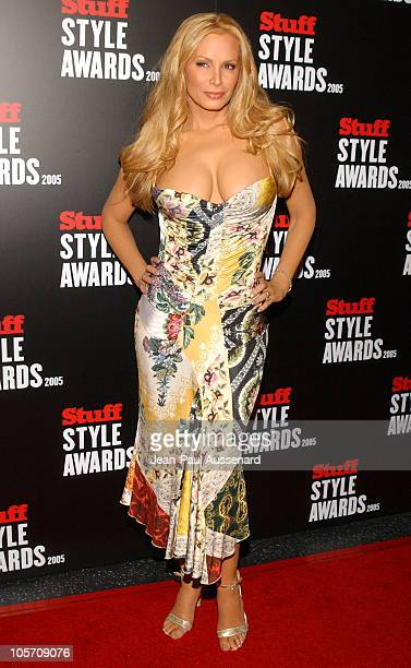Cindy Margolis during 2005 Stuff Style Awards Arrivals at Hollywood Roosevelt Hotel in Hollywood California United States