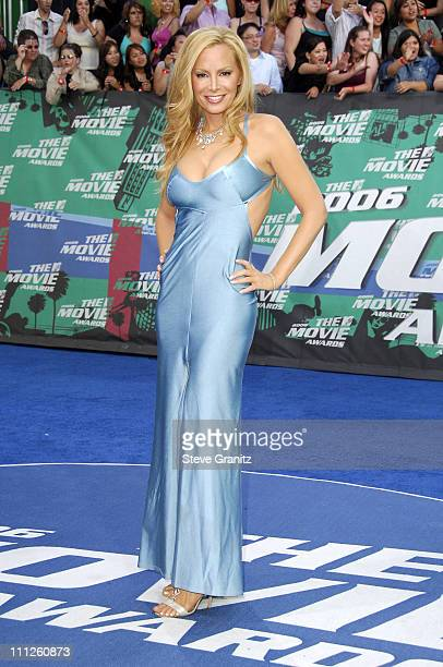 Cindy Margolis during 2006 MTV Movie Awards Arrivals at Sony Pictures in Culver City California United States