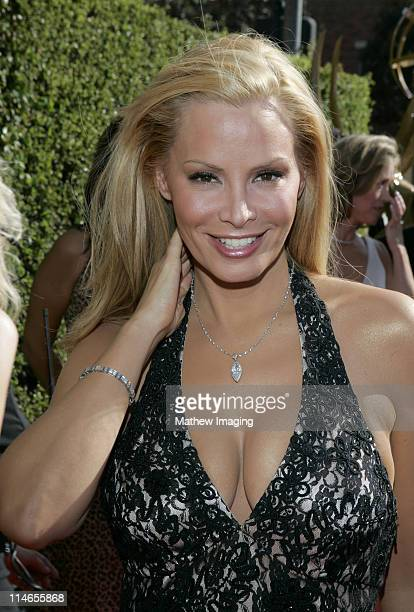 Cindy Margolis during 57th Annual Primetime Creative Arts EMMY Awards Arrivals Red Carpet at Shrine Auditorium in Los Angeles California United States