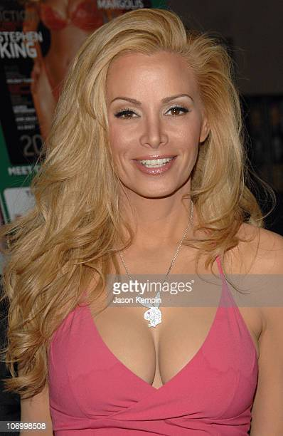 Cindy Margolis during Cindy Margolis InStore Appearance For Her Spread In Playboy's December Issue November 9 2006 at Virgin Megastore Times Square...