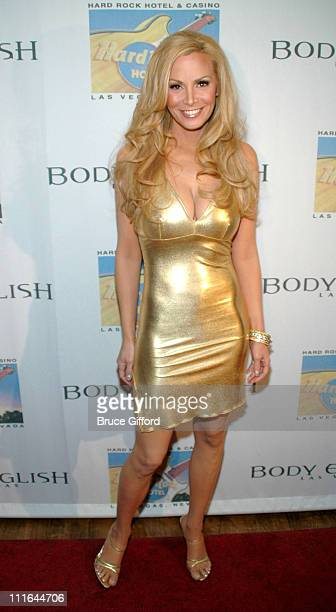 Cindy Margolis during Criss Angel and Cindy Margolis Host Party for Kozak The Magician at Body English at the Hard Rock Hotel Casino in Las Vegas...