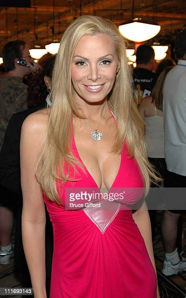 Cindy Margolis during Media and Celebrity Poker Tournament Sponsored by the WSOP at The Rio Hotel and Casino in Las Vegas Nevada United States