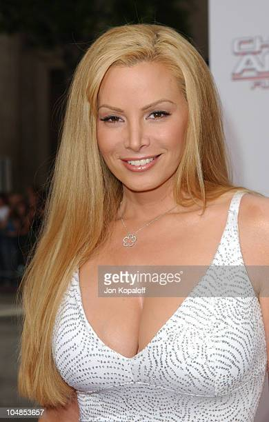 Cindy Margolis during Premiere of Charlie's Angels Full Throttle at Grauman's Chinese Theatre in Hollywood California United States
