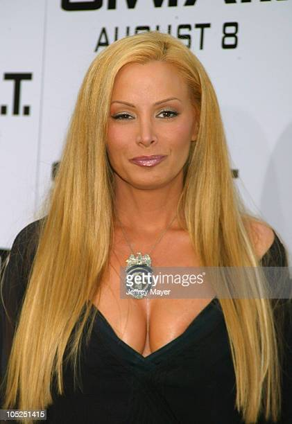 Cindy Margolis during SWAT Premiere at Mann Village Theatre in Westwood California United States