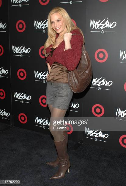 Cindy Margolis during Target Hosts LA Fashion Week Party for Designer Mossimo Giannulli at Area in Los Angeles California United States
