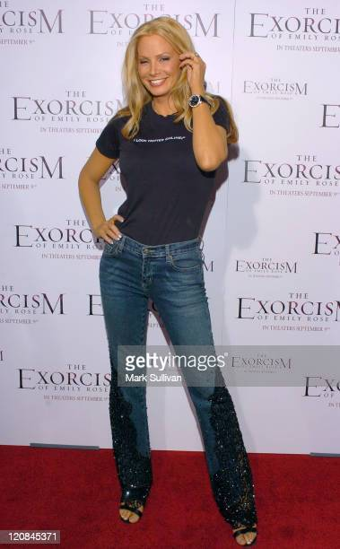 Cindy Margolis during The Exorcism of Emily Rose Los Angeles Premiere Arrivals in Los Angeles California United States