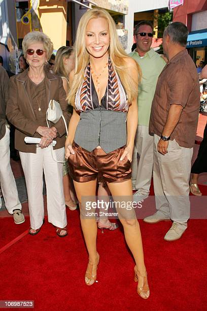 Cindy Margolis during The Fast and the Furious Tokyo Drift Los Angeles Premiere Red Carpet at Universal Studios in Hollywood California United States