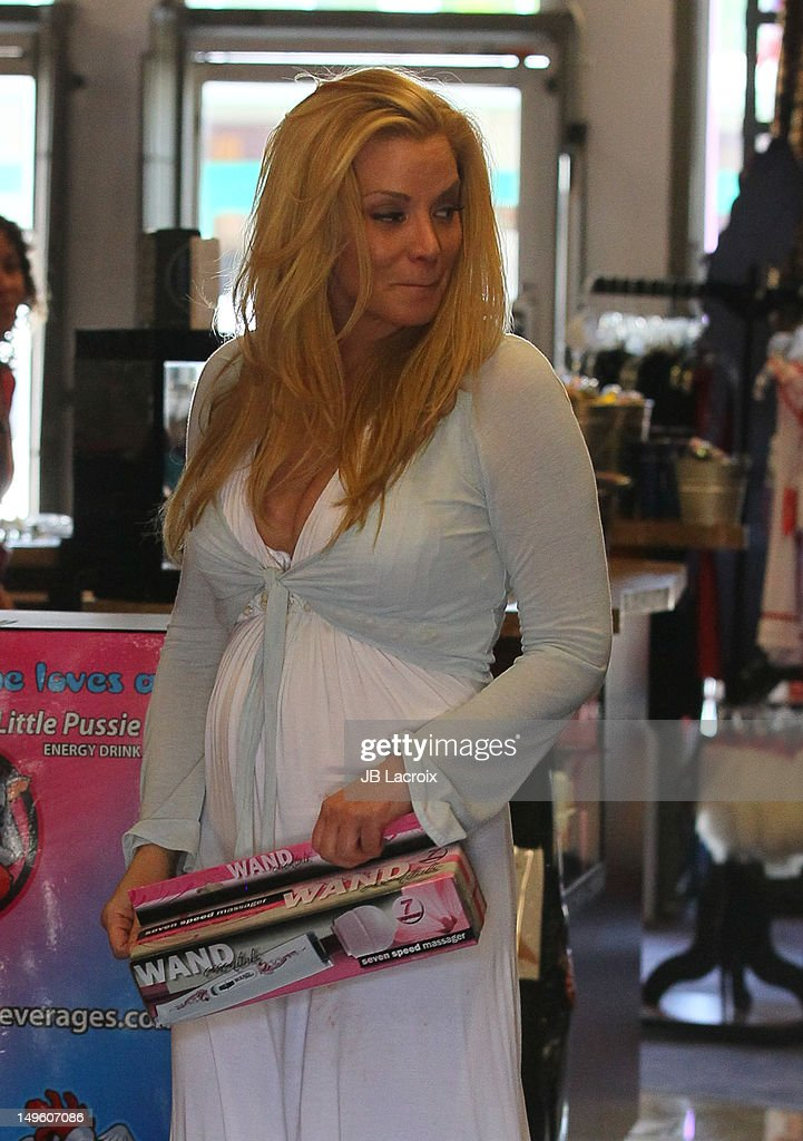 Cindy Margolis Shops At A Touch Of Romance Sex Shop On -6948