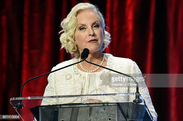 Cindy McCain attends the 2016 Muhammad Ali Humanitarian Awards at Marriott Louisville Downtown on September 17 2016 in Louisville Kentucky