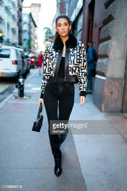 Cindy Mello attends Longchamp X InStyle event in SoHo on May 16, 2019 in New York City.