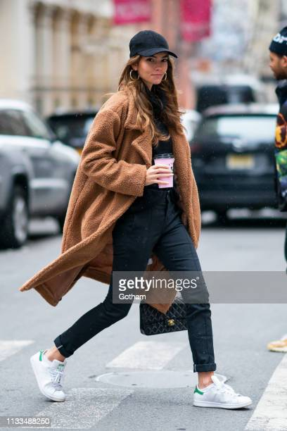 Cindy Mello is seen in SoHo on March 03, 2019 in New York City.