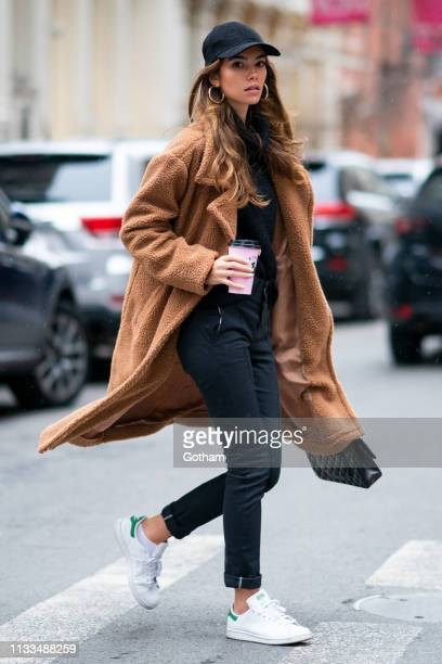 Cindy Mello is seen in SoHo on March 03 2019 in New York City