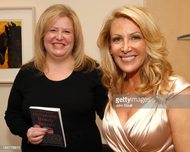 Cindy Pearlman and Kym Douglas during The Black Book of Hollywood Beauty Secrets Debut Party Hosted by Kelly and Martin Katz at Martin Katz Ltd in...