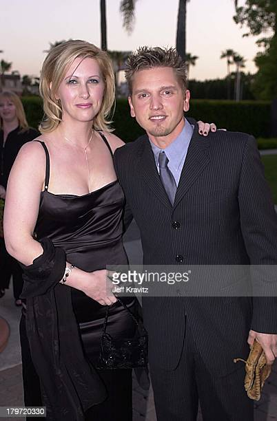Cindy Pepper and Barry Pepper during HBO's 61 Premiere at Paramount Pictures in Los Angeles California