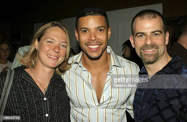 Cindy Peters producer 'Coffee Date' Wilson Cruz and Stewart Wade director 'Coffee Date'