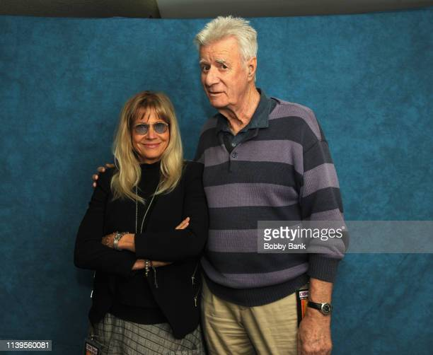 Cindy Pickett and Lyman Ward attend the Chiller Theatre Expo Spring 2019 at Parsippany Hilton on April 26 2019 in Parsippany New Jersey